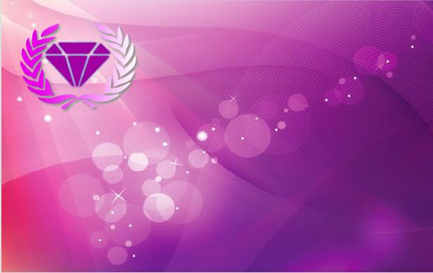 一个紫色的背景