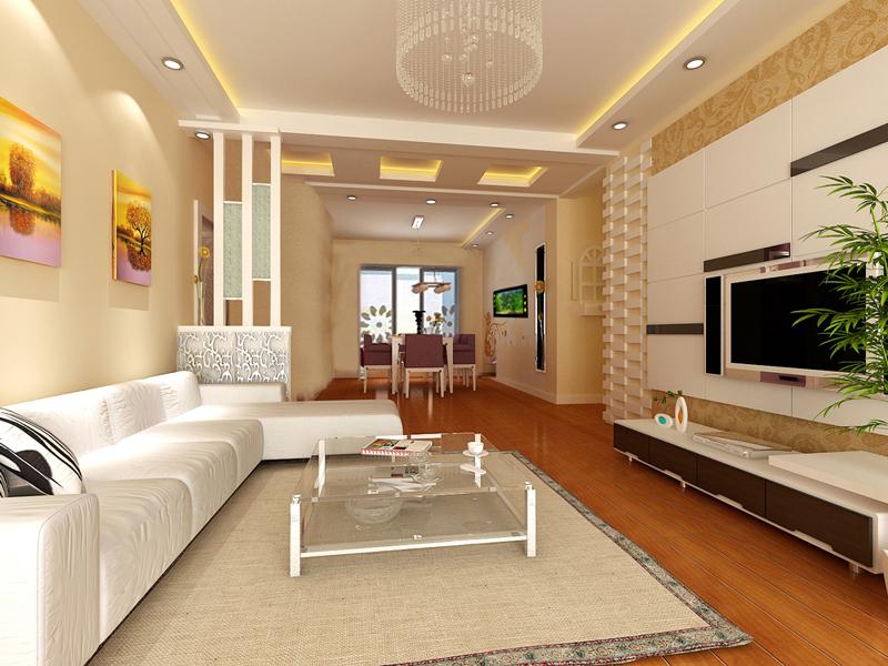 新房装修; 85平米新房装修设计-建筑设计-建筑效果图设计-新房