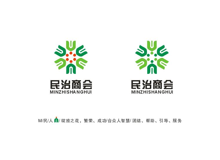 民治商会logo设计