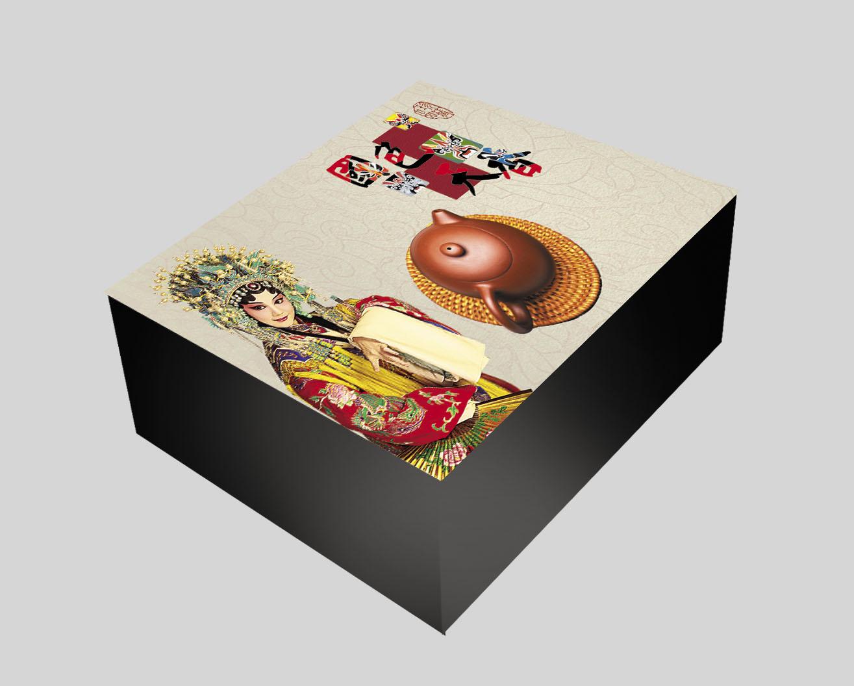 设计紫砂壶木盒或纸盒包装- 稿件[#2819160]