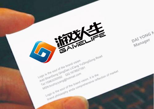 游戏公司logo和名片设计