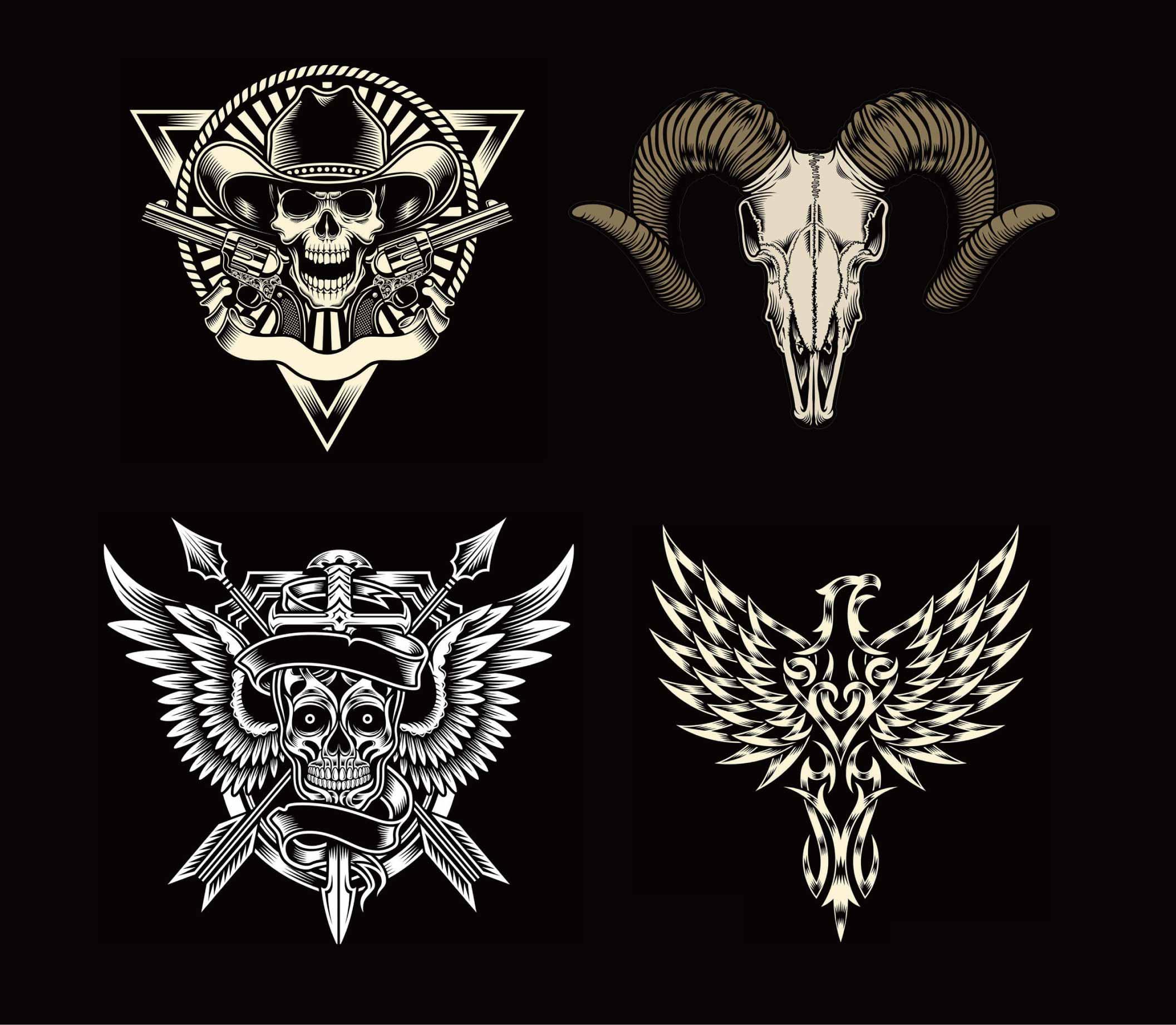 字母x纹身图案设计_纹身图案大全