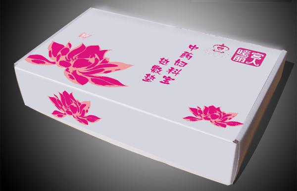 设计包装纸盒和说明书单页