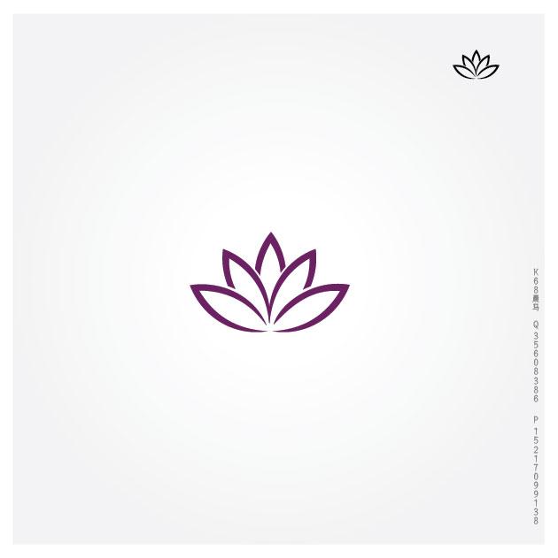 莲花,荷花,有爱心含义,家电商标,绿色环保