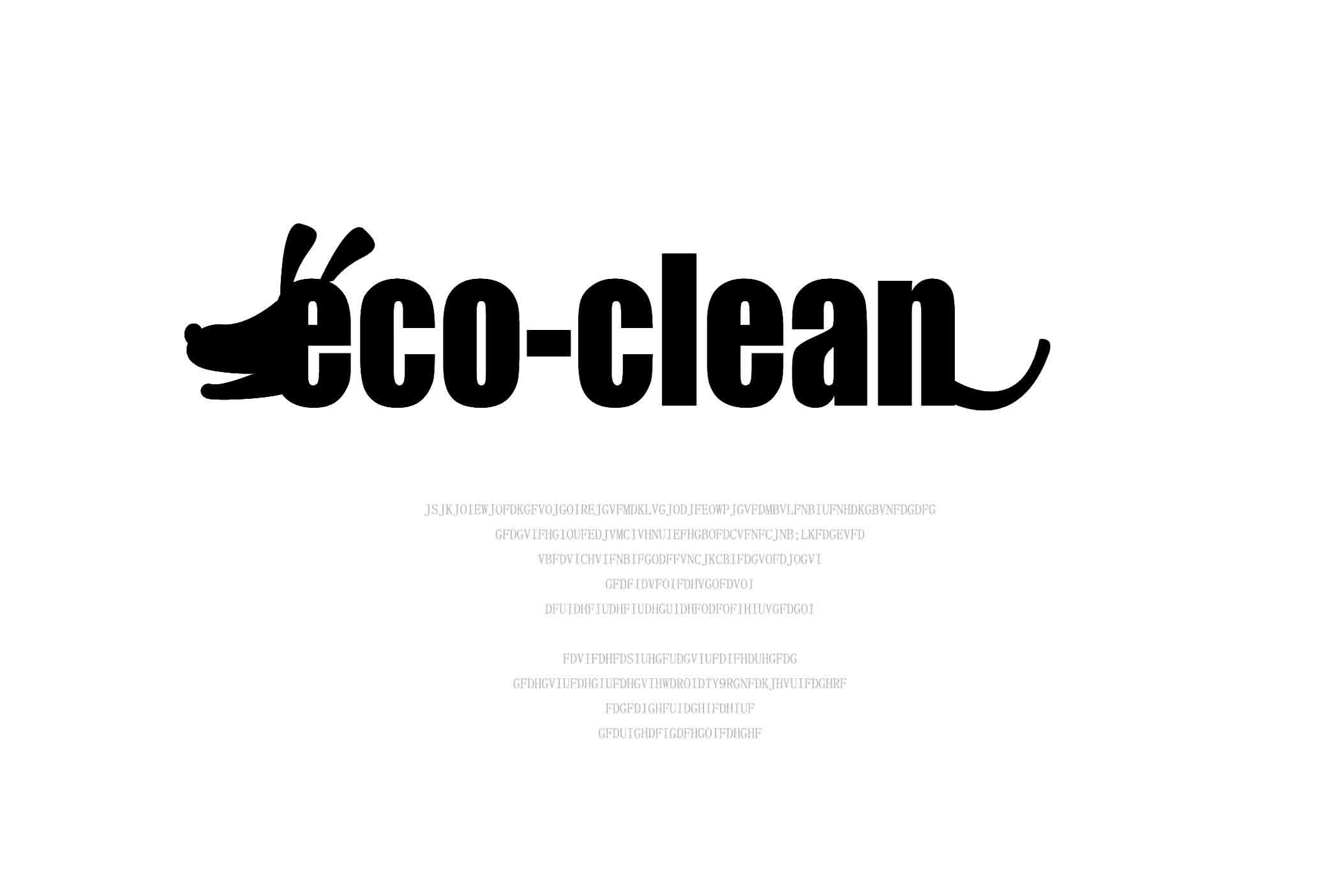 宠物清洁袋logo设计