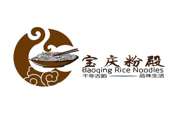 餐饮品牌-宝庆粉殿 商标logo设计