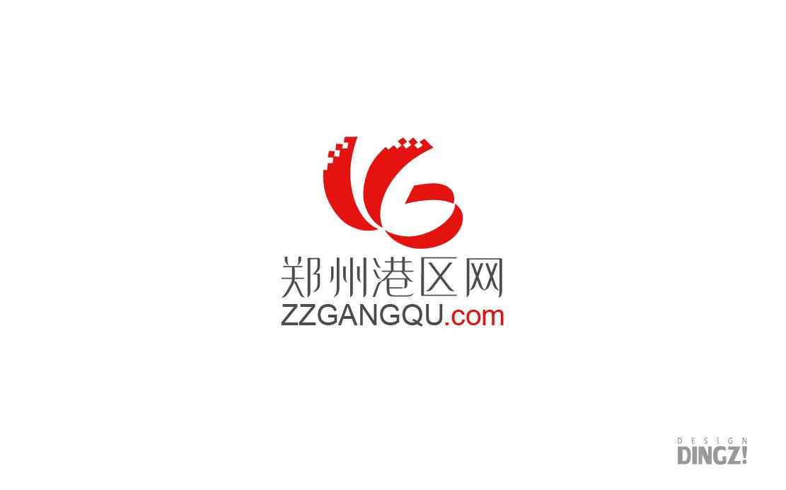 郑州港区网航空港门户LOGO设计_2934633_k68威客网