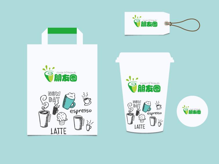 设计/[25698号任务] 300元 奶茶店标志/ 稿件[#2936598] / 作者:hy...