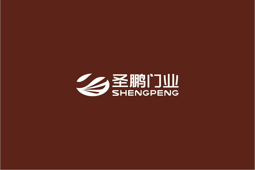 圣鹏门业logo设计_2940824_k68威客网