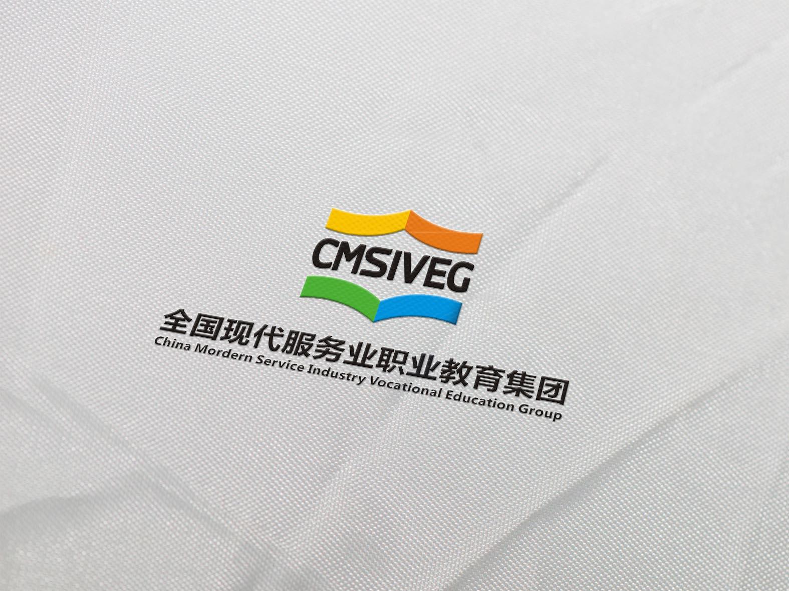 全国现代服务业职业教育集团logo设计_2946508_k68威客网