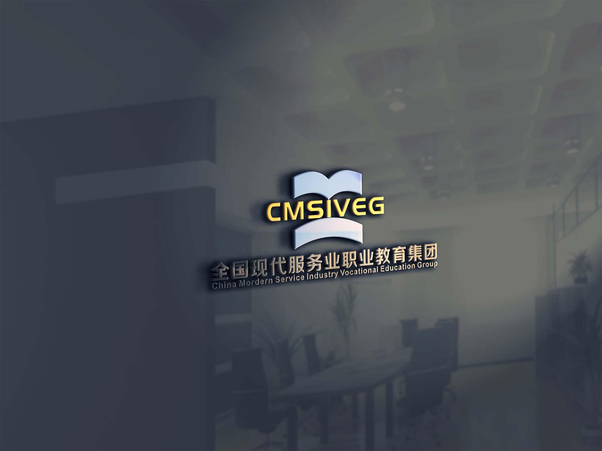 全国现代服务业职业教育集团logo设计_2946523_k68威客网