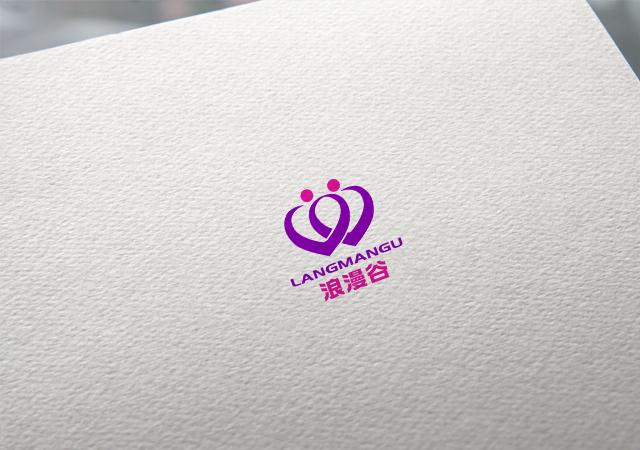 """以""""浪漫谷""""为名设计LOGO标志_2953602_k68威客网"""