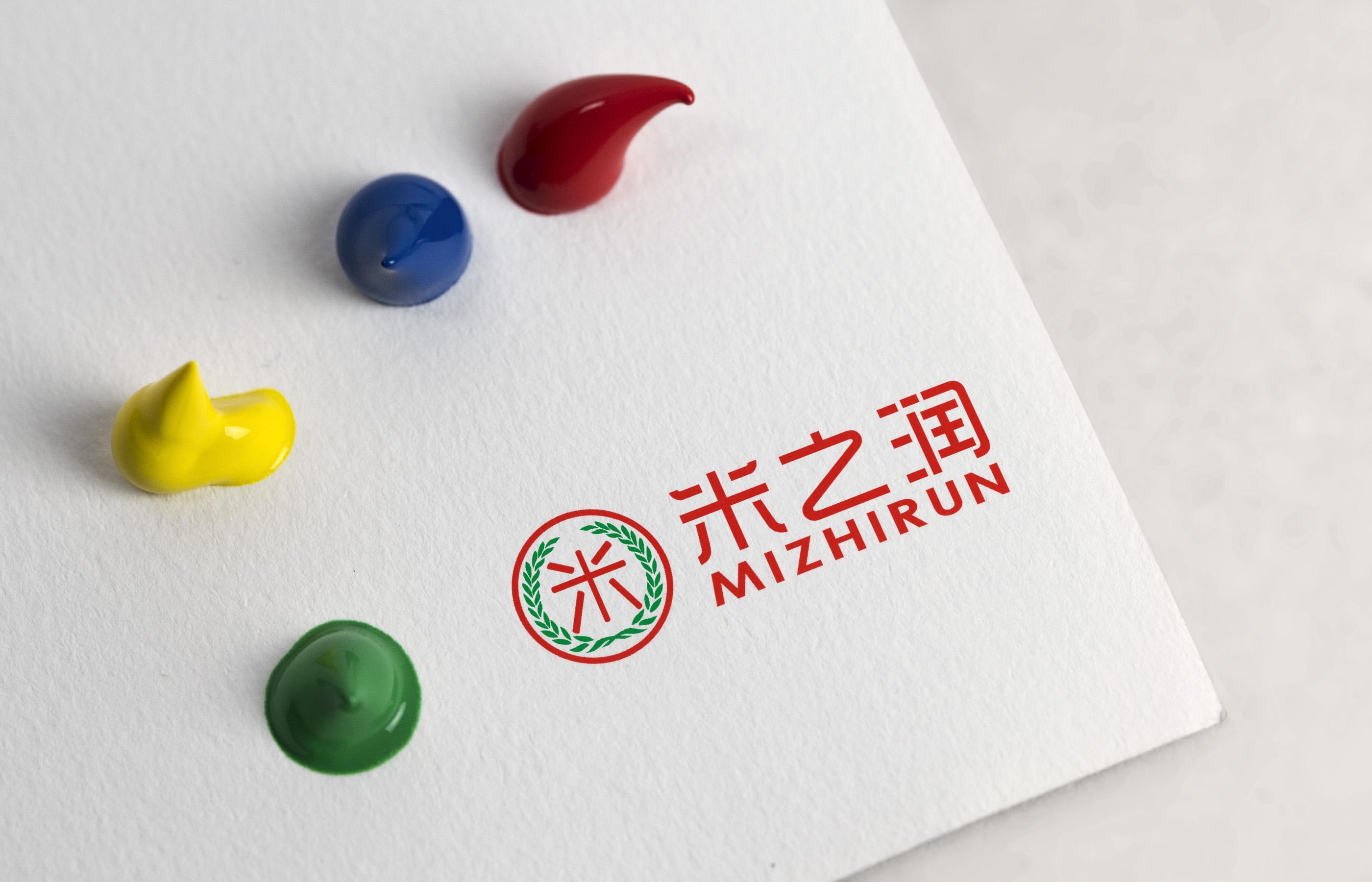米之润logo设计_2955857_k68威客网