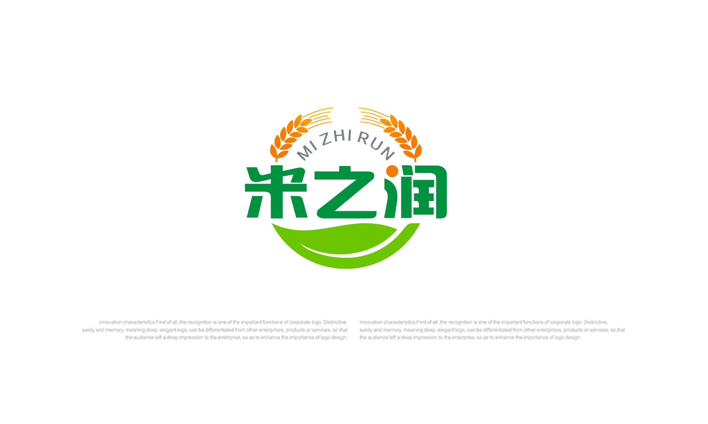 米之润logo设计_2955886_k68威客网