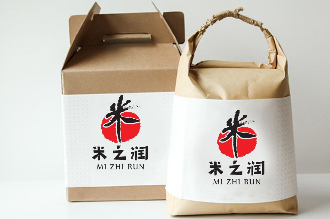 米之润logo设计_2955980_k68威客网
