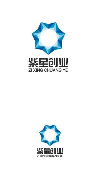 紫星创业孵化园logo设计_2956050_k68威客网