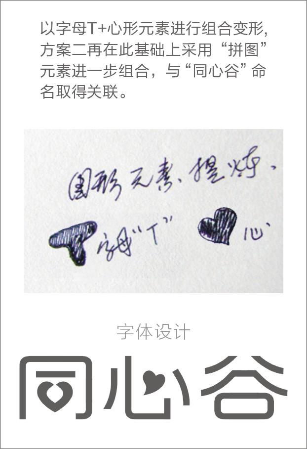 """以""""同心谷""""为主题设计Logo_2957689_k68威客网"""