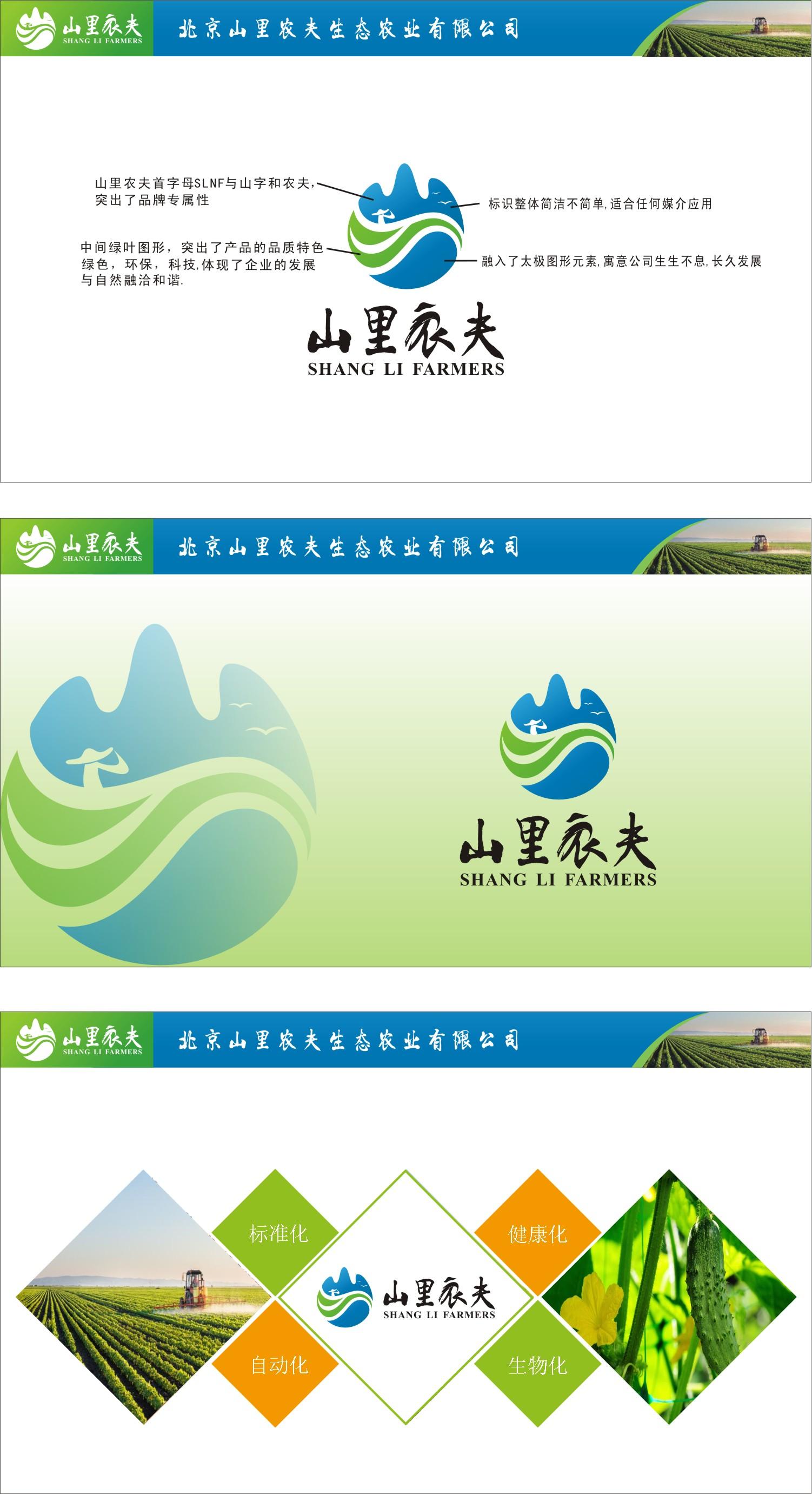 北京生态农业公司征集LOGO_2958028_k68威客网