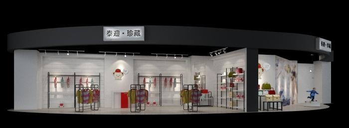 泰迪熊品牌店铺空间设计_3011386_k68威客网