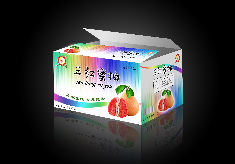 三红蜜柚外箱版面(补充新内容)_2966262_k68威客网