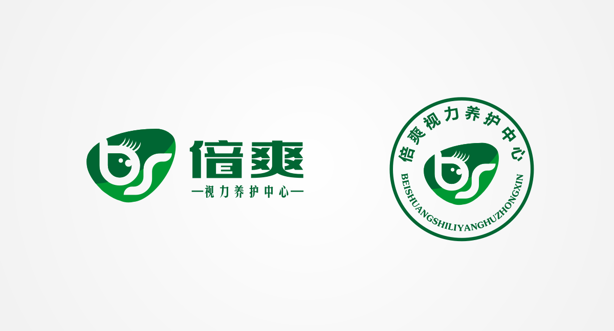 义乌倍爽视力养护中心logo设计_2994830_k68威客网