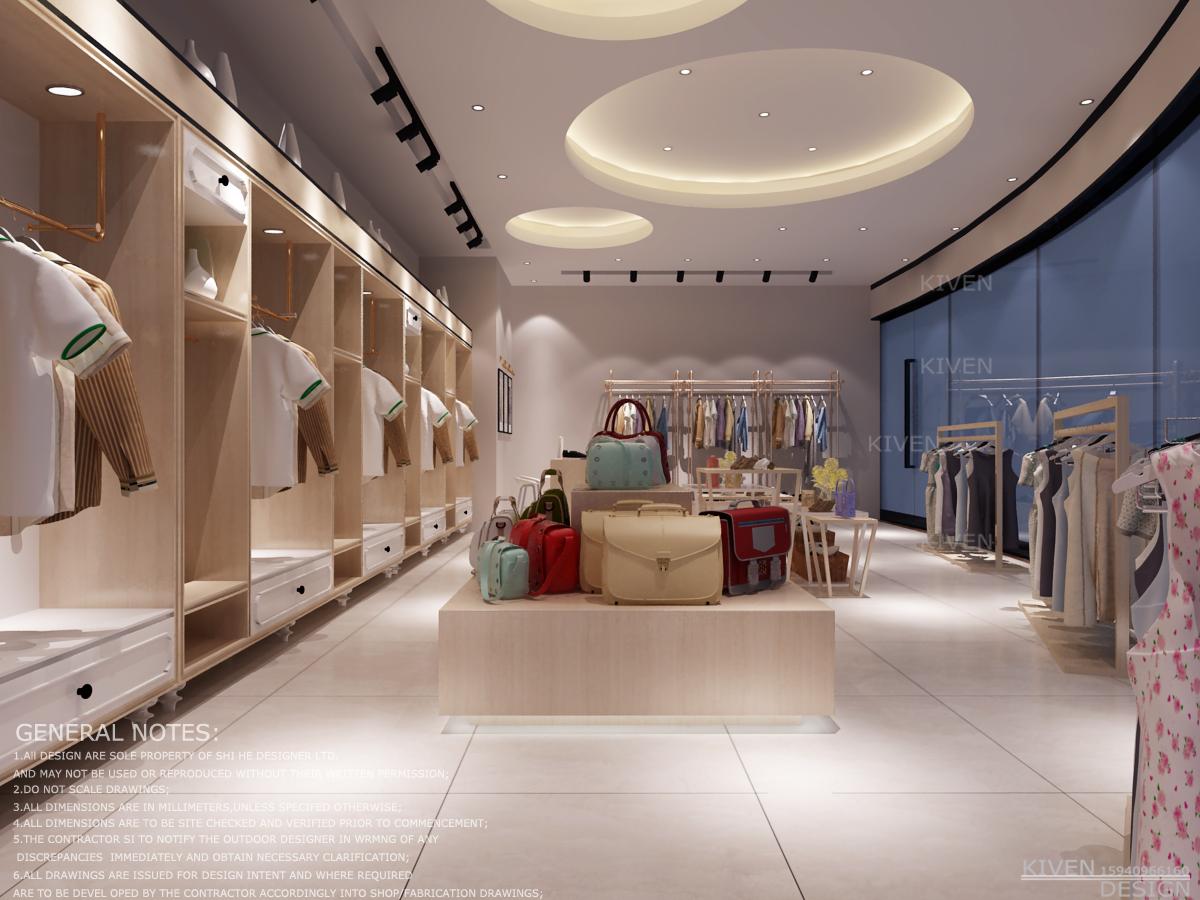 泰迪熊品牌店铺空间设计_3012564_k68威客网