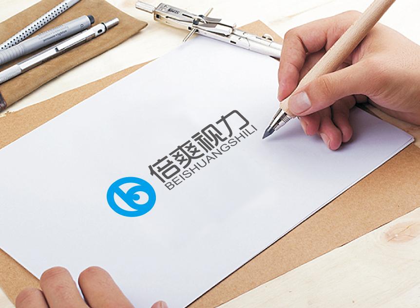 义乌倍爽视力养护中心logo设计_2994696_k68威客网