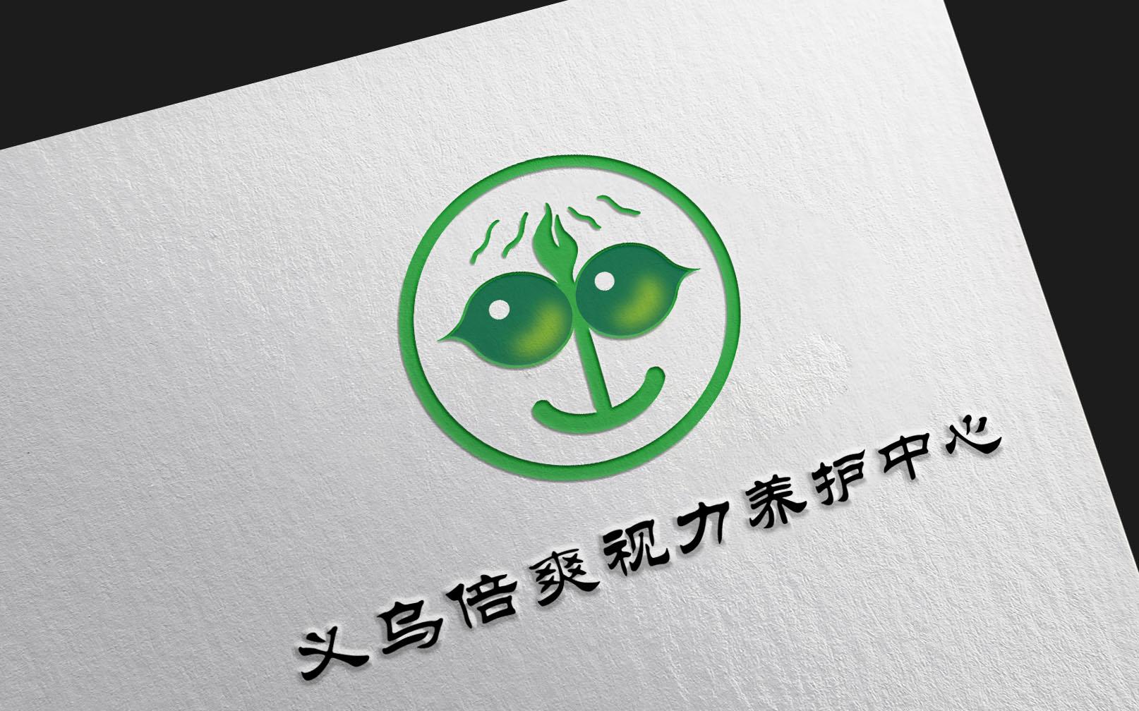 义乌倍爽视力养护中心logo设计_2994705_k68威客网
