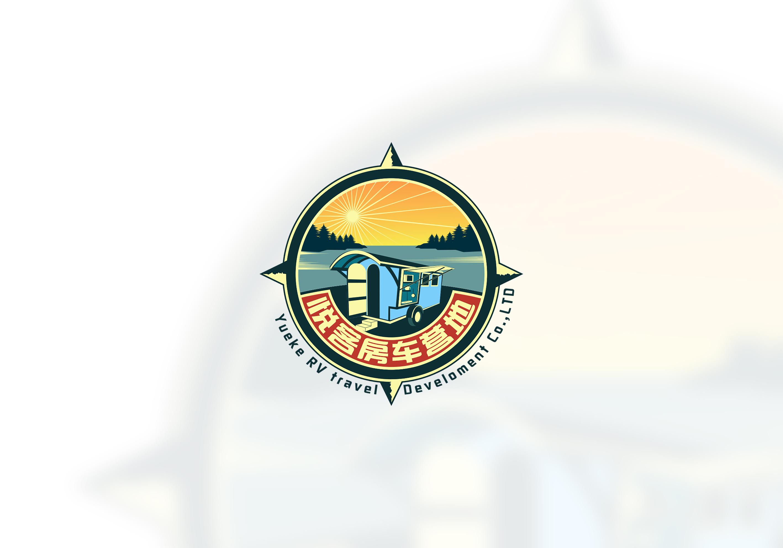 房车营地logo设计_2963686_k68威客网