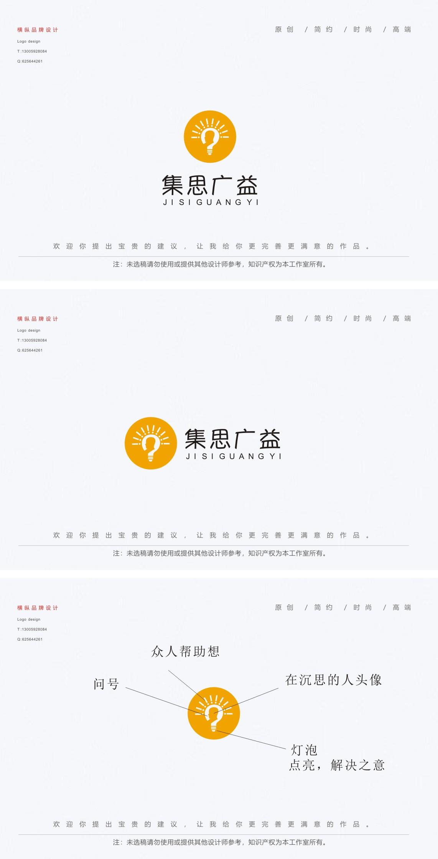 集思广益 logo 征集_2966401_k68威客网