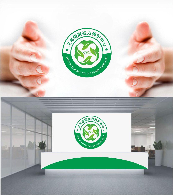 义乌倍爽视力养护中心logo设计_2994822_k68威客网