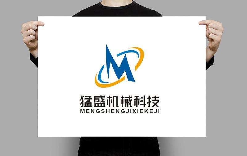 上海猛盛机械科技公司LOGO、广告语_2965972_k68威客网