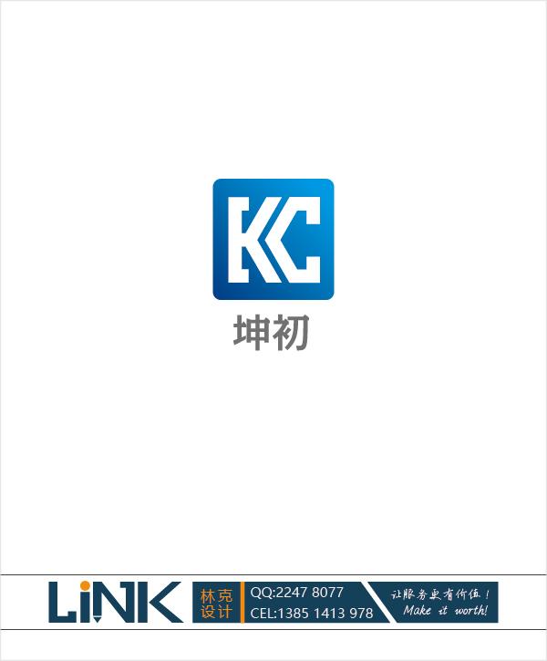 """商标""""坤初""""的loge设计_3026798_k68威客网"""