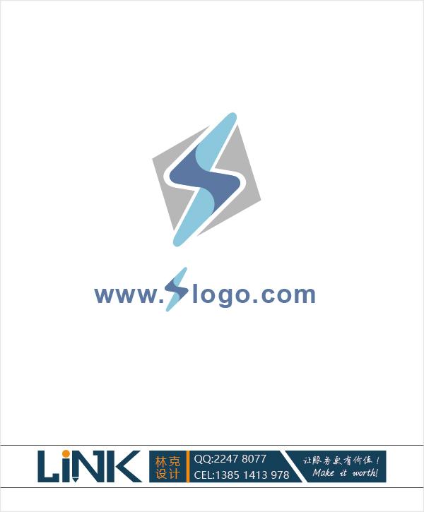 闪电logo设计_3028136_k68威客网