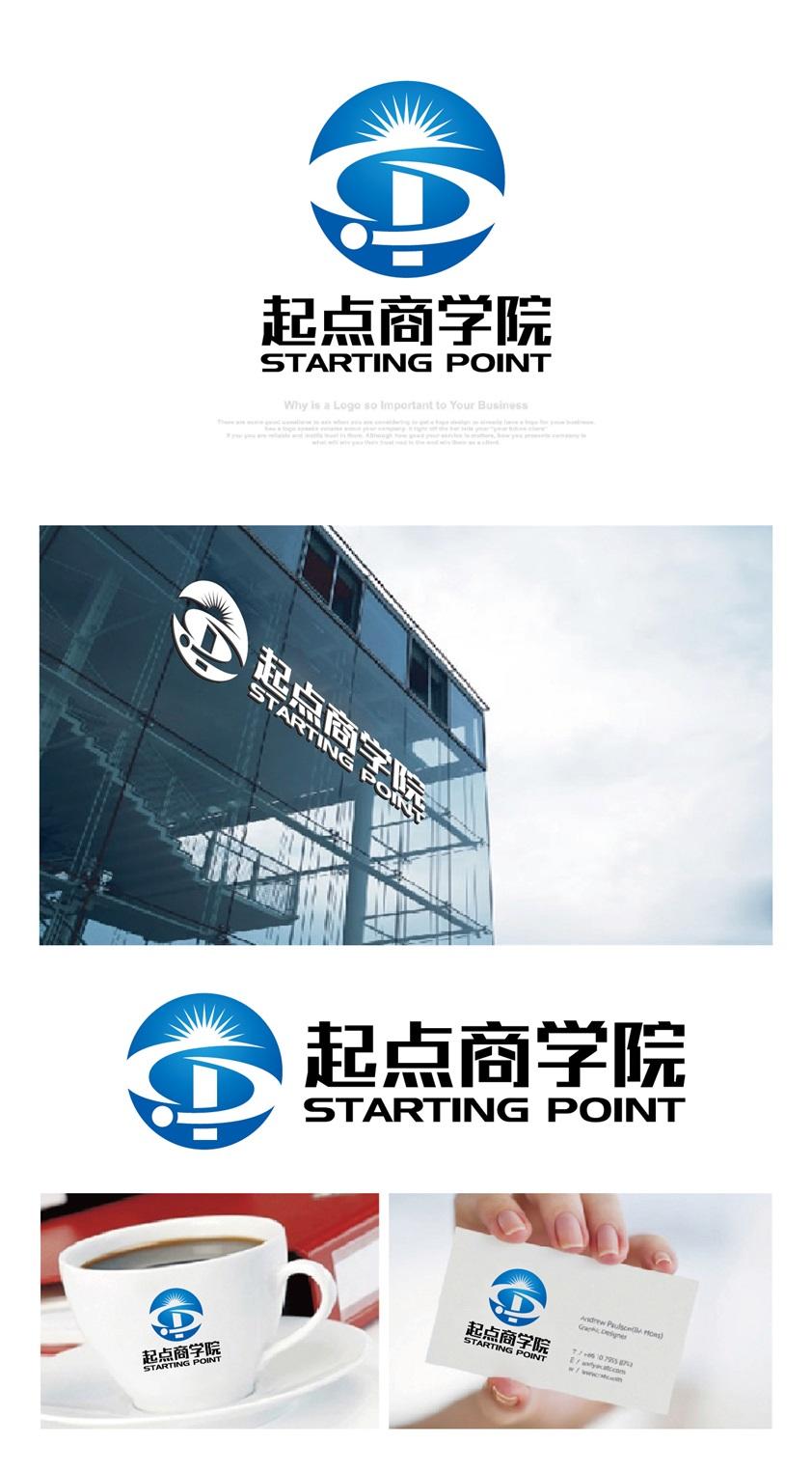 """""""起�c商�W院""""征集LOGO_3026021_k68威客�W"""