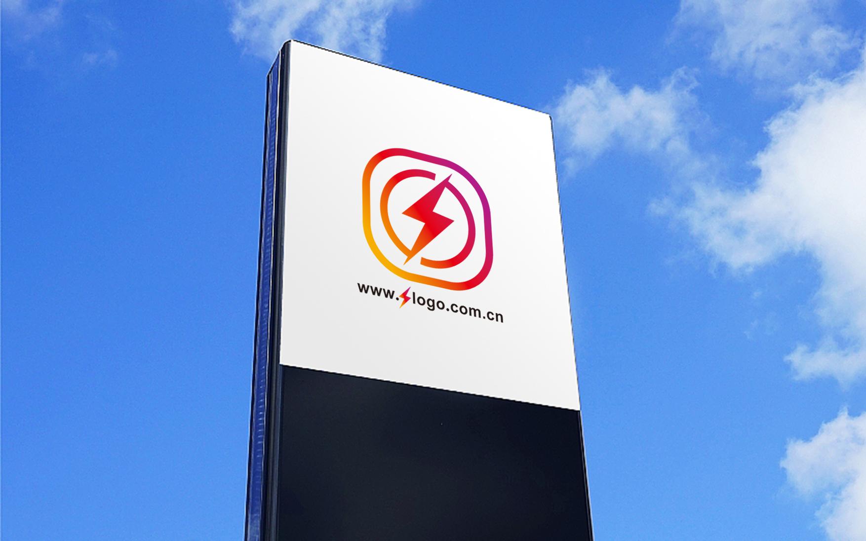 闪电logo设计_3028160_k68威客网