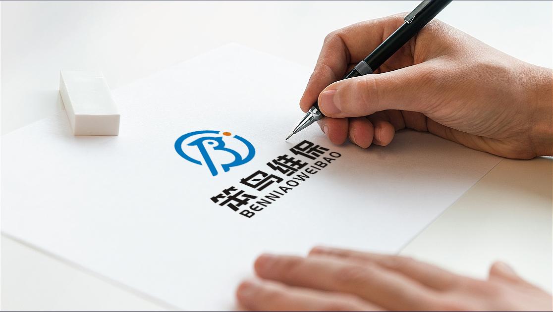 logo名称,笨鸟 / 笨鸟维保_3033457_k68威客网
