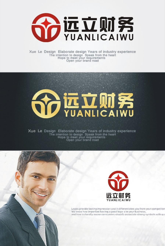 财务代账公司logo设计_3033352_k68威客网