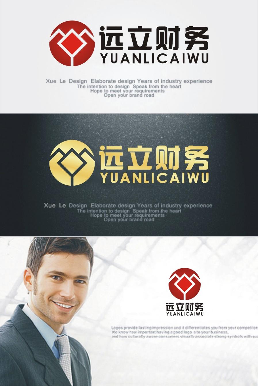 财务代账公司logo设计_3033353_k68威客网