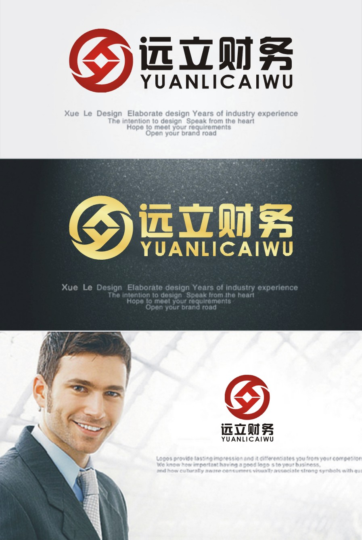 财务代账公司logo设计_3033354_k68威客网