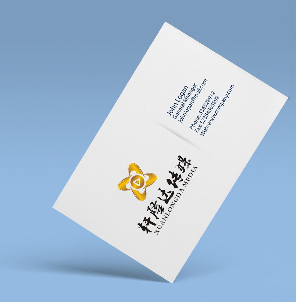 轩隆达传媒logo设计_3032863_k68威客网