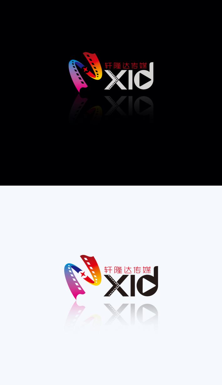轩隆达传媒logo设计_3032865_k68威客网