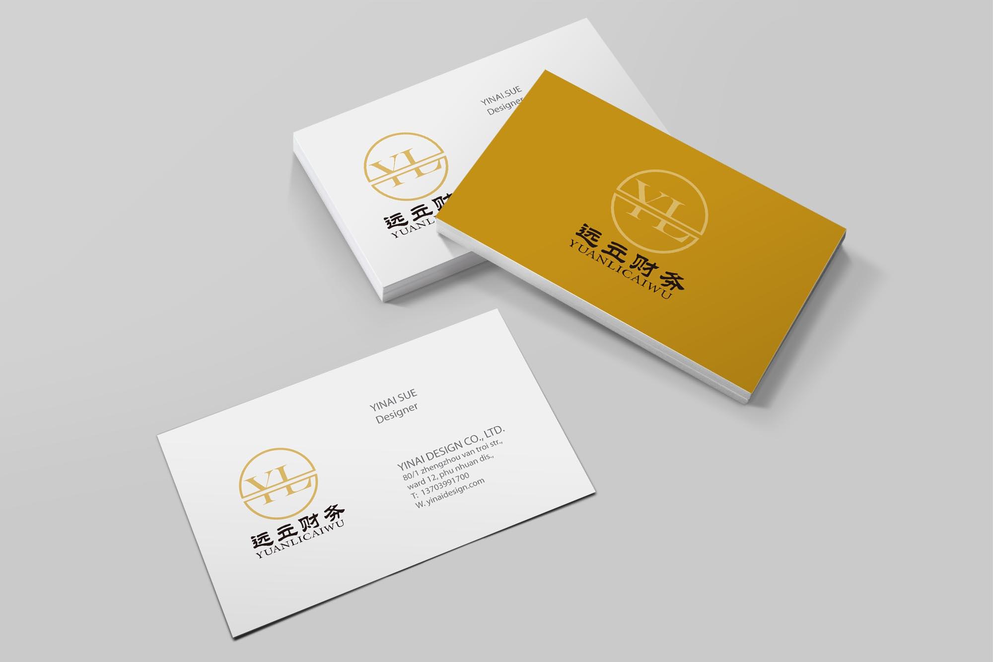 财务代账公司logo设计_3033372_k68威客网