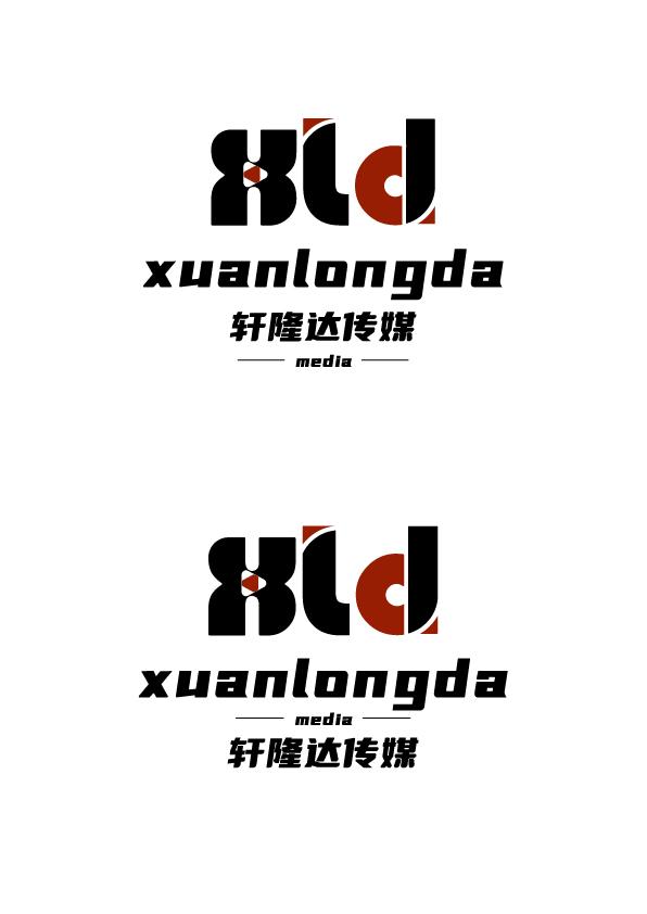 轩隆达传媒logo设计_3032814_k68威客网